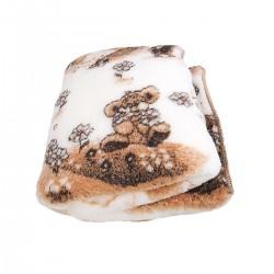 Одеяло из овечьей шерсти «Тедди» 140x110
