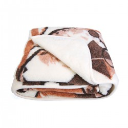 Одеяло из овечьей шерсти 145х200